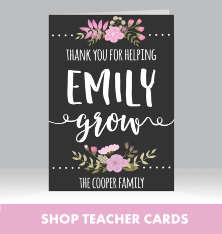 Shop Teacher Cards